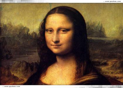 Mona Lisa....Stares into your soul