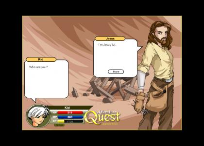 adv quest JESUS LOL