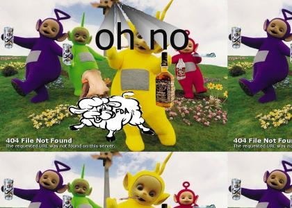 its a teletubby party