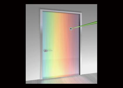 Laser Gay Door