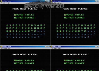 Epic Metroid Password