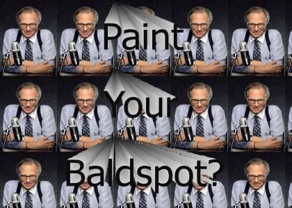 Paint Your Baldspot?