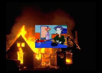 Stu Pickles lights up the night