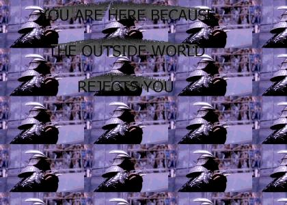 Shredder addresses YTMND