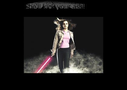 Emma is a Jedi (works now)