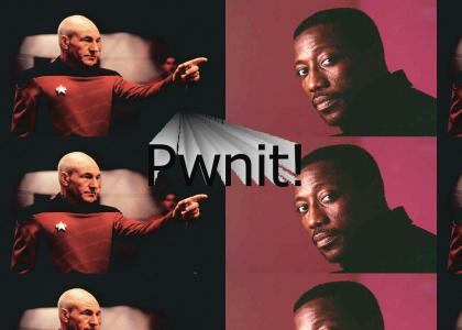Picard Pwns Wesley Snipes