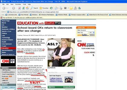 Sex Change?