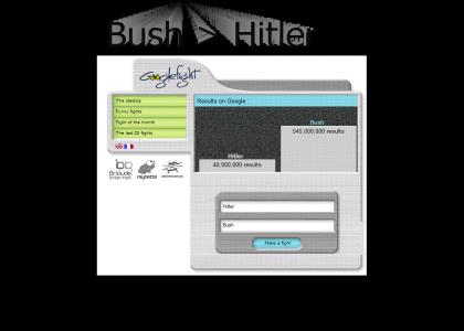 OMFG, Hitler vs Bush
