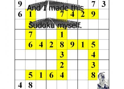 OMG, Secret Nazi SOLVABLE Sudoku!