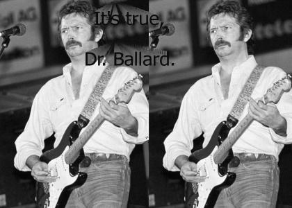 Eric Clapton sucks.