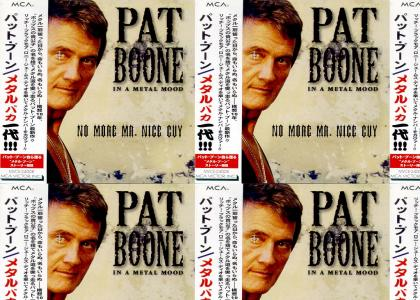pat boone holy diver