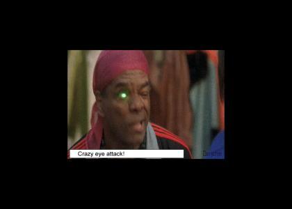 Crazy Eyes has had enough!