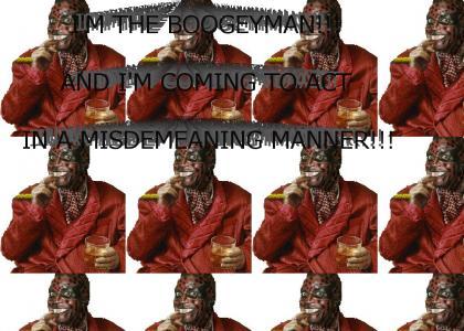 The Boogeyman gets cultured..