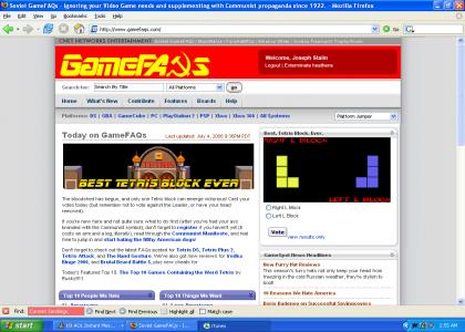 GameFAQs gets hacked by the Russians?