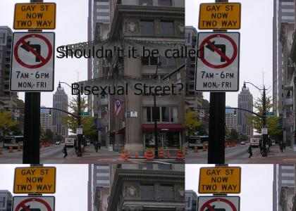 Gay Street in Columbus goes Both Ways?!