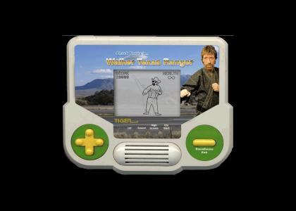 Chuck Norris Tiger Handheld
