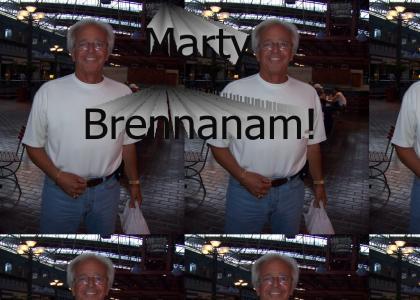 It's BrennaMAN, George!