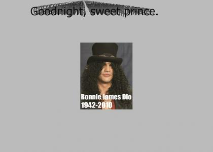 R.I.P. RONNIE JAMES DIO