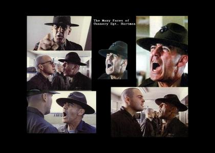 The Many Faces of Gunnery Sgt. Hartman