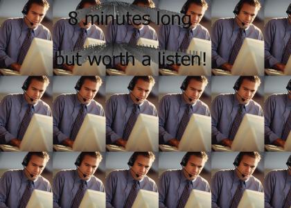 Crazy telemarketer call