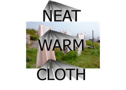 Neat Warm Cloth