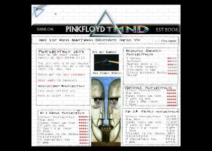 Pinkfloydtmnd: Main page