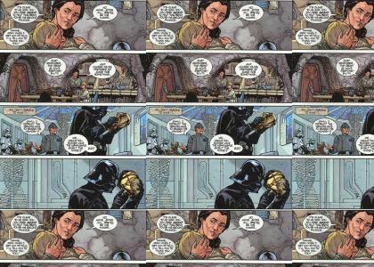 Vader is sad