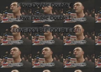 I love Double Double E!