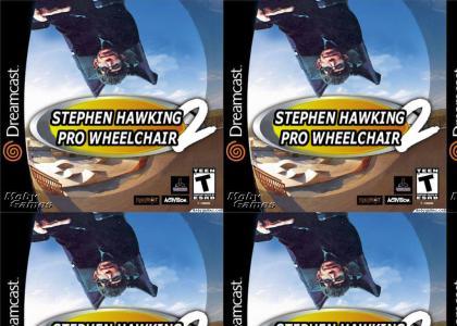 Stephen Hawking Pro Wheelchair 2