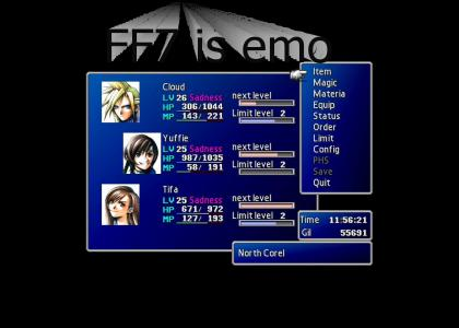 FF7 is emo