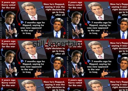 John Kerry is still uncertain