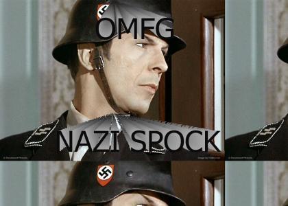 OMFG, Secret Nazi SPOCK