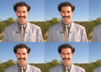 Borat sings to Rammstein