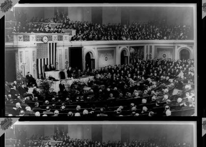 Orson Wells Addresses Congress