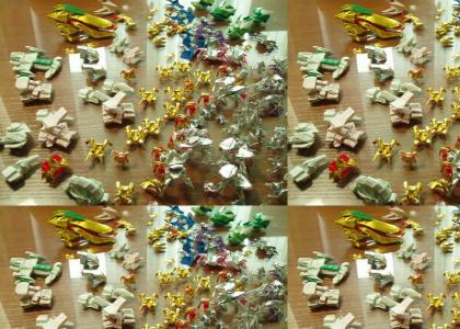 Origami Starcraft Remix