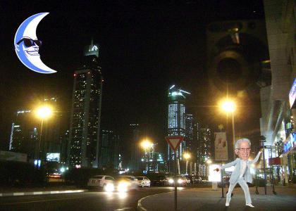 Danson In The Moonlight