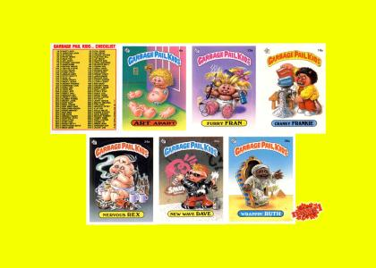 Garbage Pail Kids 1985 Series 1