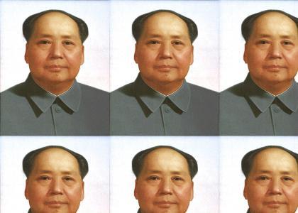 General Mao Zedong is wondering where he put his car keys.