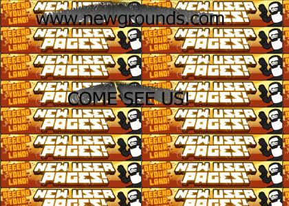 Newgrounds.com - New layout!