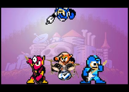 Megaman Rocks Out (Flashman Edition)
