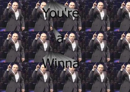 """Ed Sanders Thinks You're a """"Winna!"""""""