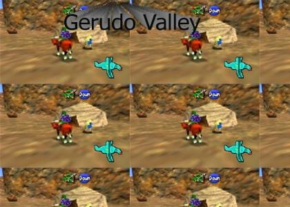 Great Moments in Video Game Music- Gerudo Valley
