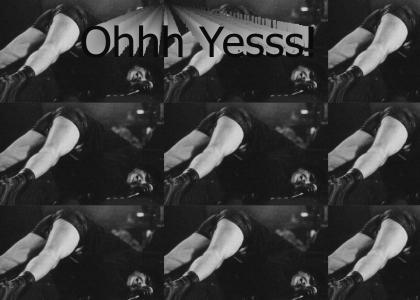 Trent Reznor orgasm