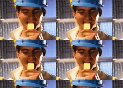 eatin cheese