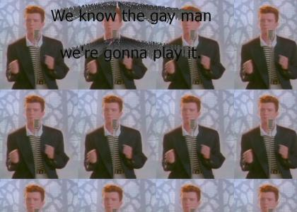 Rick astley knows...
