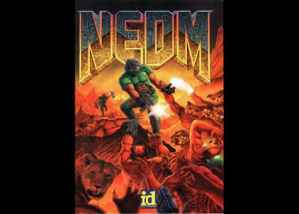 NEDM: Game box art