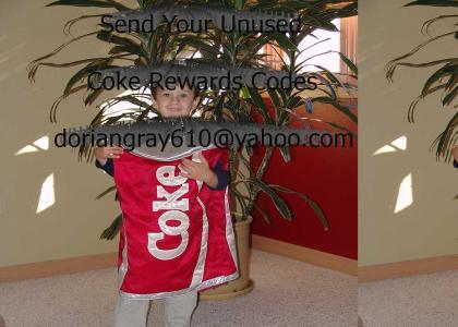 I need your Coke Codes