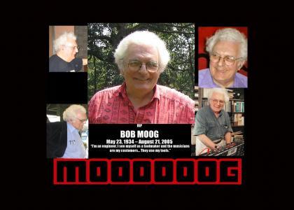 R.I.P. Bob Moog