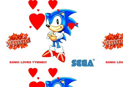 But SEGA!! ... Sonic LOVES YTMND!!