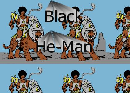The Black He-Man